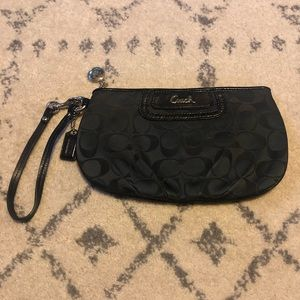 Great Condition Coach Wristlet